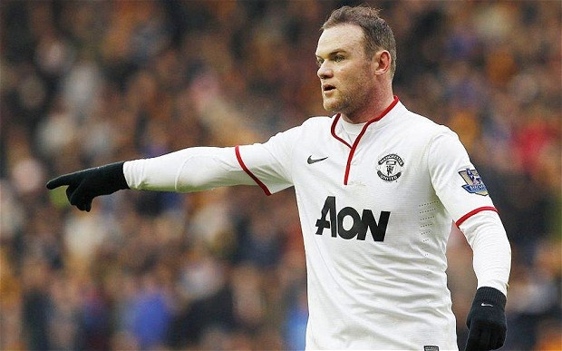 Rooney dong y o lai M.U hinh anh