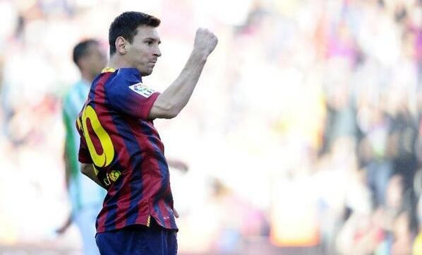 Barca 3-1 Betis: Messi thanh Vua sut penalty hinh anh