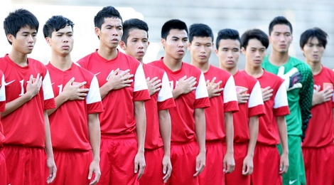 U19 Viet Nam co the thang Trung Quoc va Han Quoc hinh anh
