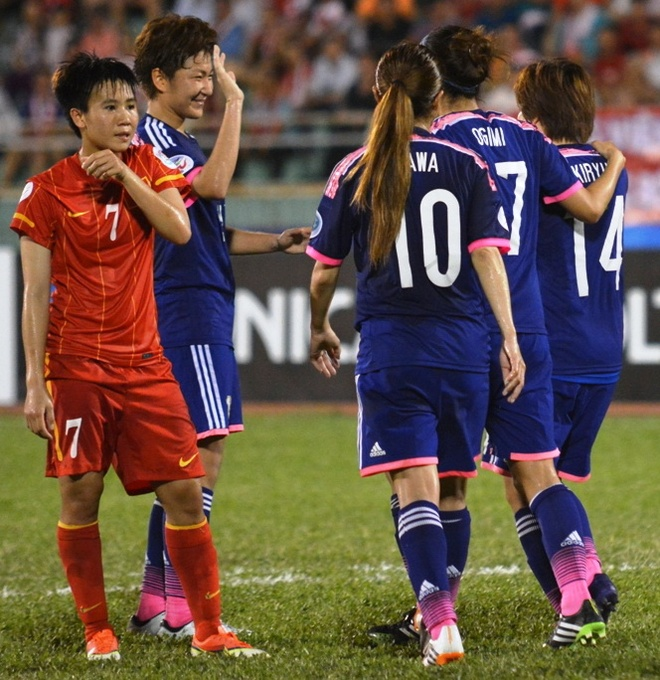 DT nu Viet Nam 0-4 Nhat Ban: Hoc hoi nha vo dich the gioi hinh anh