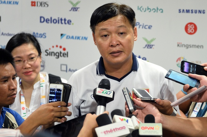 HLV cua Anh Vien: 'Toi muon dung ket qua de tra loi' hinh anh