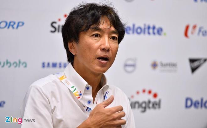 HLV Miura cang thang sau tran thua Thai Lan hinh anh 2 HLV Miura: