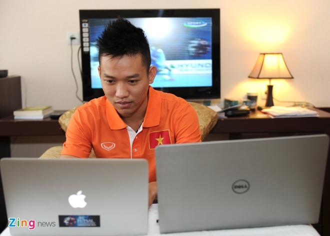 HLV Bruno: 'Futsal VN muon danh bai Thai Lan tai SEA Games' hinh anh 3