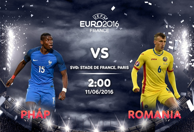 Khai mac Euro 2016 Phap vs Romania: Cong cuong gap thu vung hinh anh