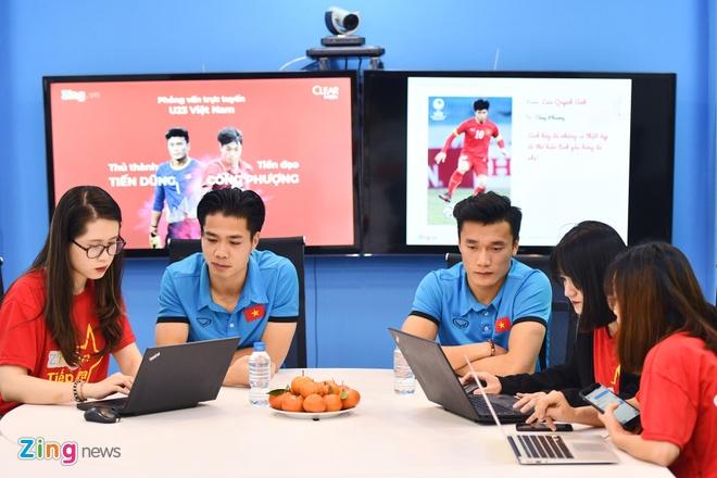 Tien Dung, Cong Phuong: 'Niem tin chua bao gio tat voi U23 Viet Nam' hinh anh 5