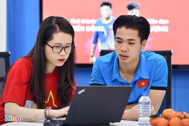 Tien Dung, Cong Phuong: 'Niem tin chua bao gio tat voi U23 Viet Nam' hinh anh 3