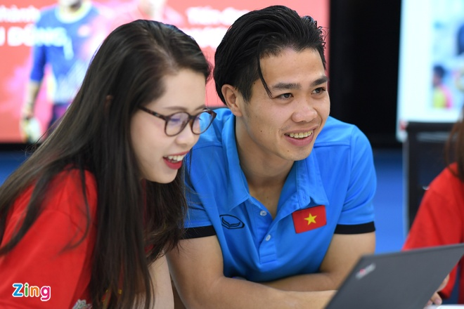 Tien Dung, Cong Phuong: 'Niem tin chua bao gio tat voi U23 Viet Nam' hinh anh 13