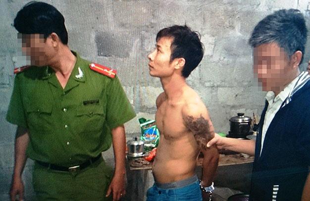 Nghi can cuop hon 43 luong vang o Phu Yen bi bat o Hue hinh anh