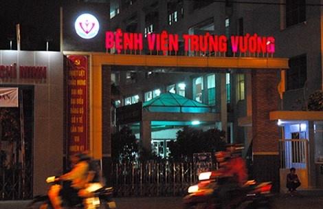 Cam ma tau 'dai nao' Benh vien Trung Vuong hinh anh