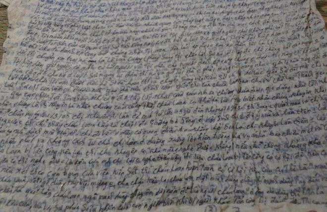 TAND toi cao lam viec voi gia dinh tu tu Le Van Manh hinh anh 1 Một phần đơn kêu oan của tử tù Lê Văn Mạnh.