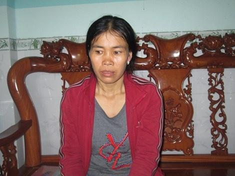 Vu nu sinh Dong Nai mat tich: Gia dinh nhan tin nhan ga tinh hinh anh 1 Chị Lan hoang mang khi nhận tin nhắn lạ.