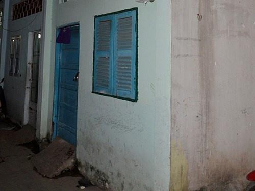 Chong dam vo roi tu van trong nha hinh anh 1 Căn nhà xảy ra vụ việc.