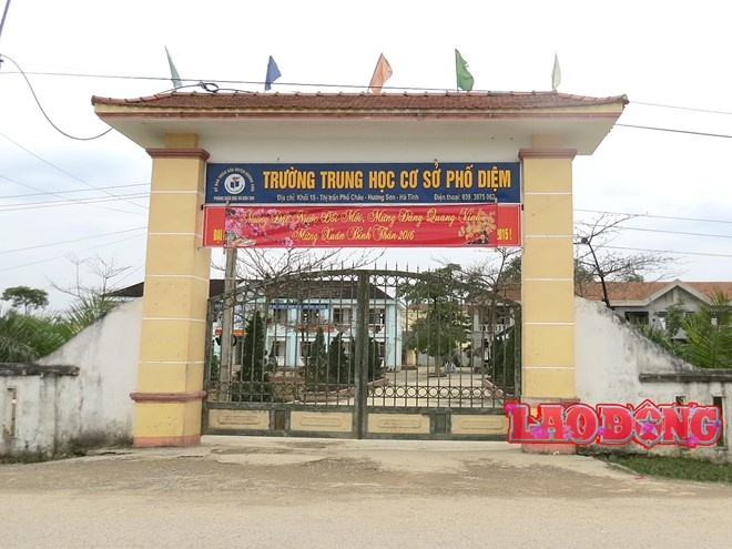 Cong an vao cuoc vu hoc sinh bi hanh hung chan thuong so nao hinh anh 1