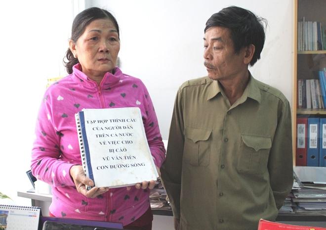 Nhieu nguoi ky ten xin giam an tu cho Vu Van Tien hinh anh 1
