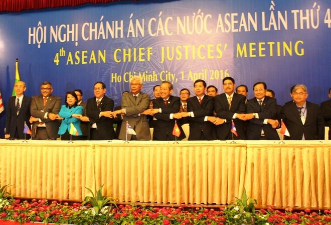 Hop tac giua toa an cac nuoc ASEAN hinh anh 1