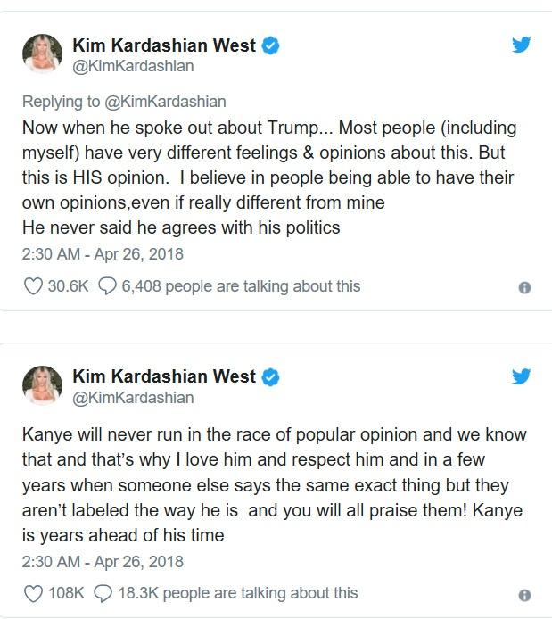 Kanye West mat gan 10 trieu nguoi theo doi khi goi Trump la 'anh em' hinh anh 3