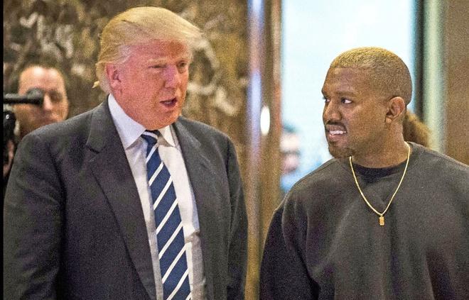Kanye West mat gan 10 trieu nguoi theo doi khi goi Trump la 'anh em' hinh anh 1
