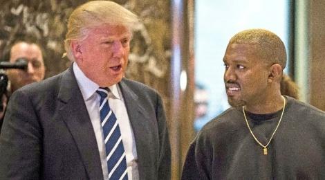 Kanye West mat gan 10 trieu nguoi theo doi khi goi Trump la 'anh em' hinh anh