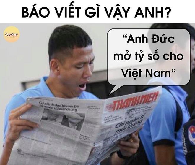 Dan mang che anh cam on Anh Duc sau tran Viet Nam thang Thai Lan hinh anh 1