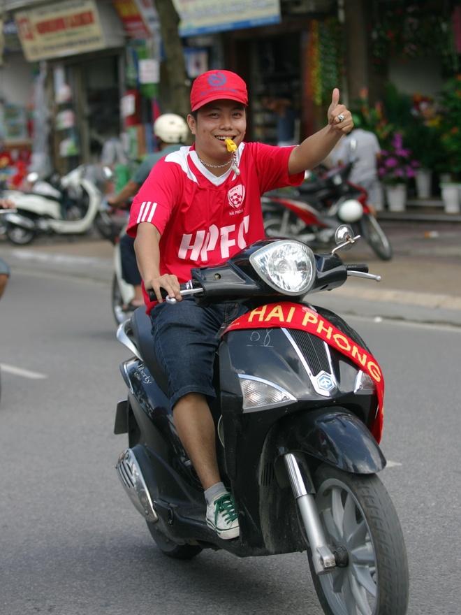 Fan nu dat Cang co vu V.Hai Phong hinh anh 8