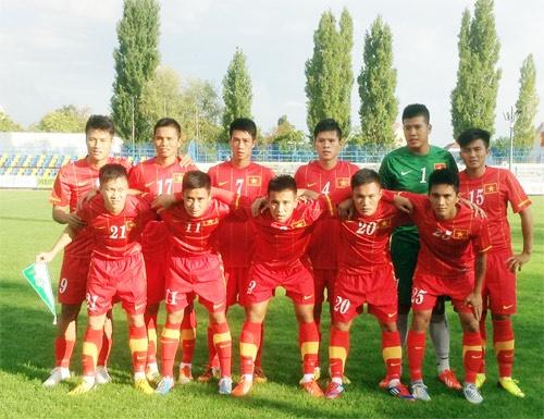 Hom nay U23 VN gap thu thach Hungary, U19 ket thuc vong bang hinh anh