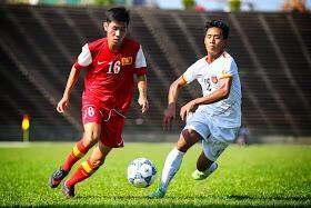 Choi xau, U22 Viet Nam thua de U23 Thai Lan hinh anh