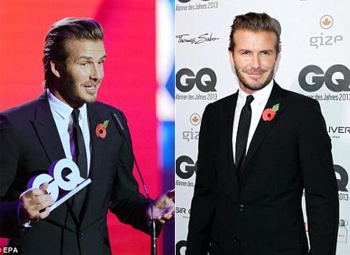Beckham duoc vinh danh 'quy ong' phong cach nhat nam hinh anh