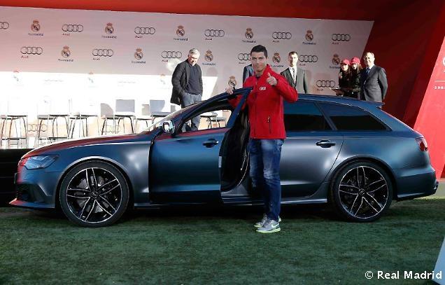 Ronaldo duoc tang sieu xe Audi RS 6 hinh anh 6