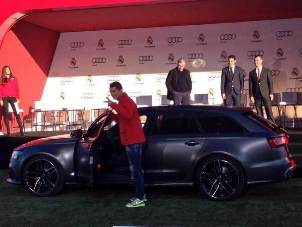 Ronaldo duoc tang sieu xe Audi RS 6 hinh anh 3