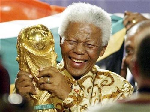Nelson Mandela - CDV the thao dac biet nhat the gioi hinh anh