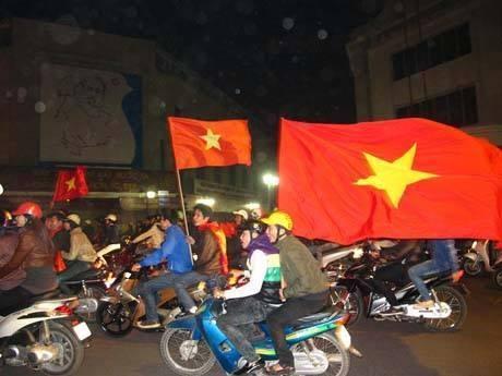 Co dong vien doi mua ret di co vu U23 Viet Nam hinh anh