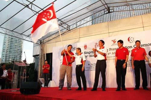 Singapore to chuc SEA Games 28 vao mua he hinh anh