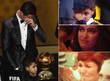 Dang sau giot nuoc mat thanh cong cua Ronaldo hinh anh