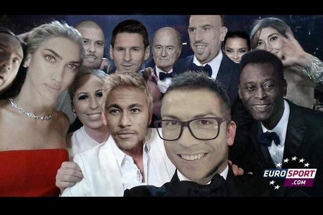 Fan che anh Terry, Ronaldo, Messi… tu suong tai Oscar hinh anh