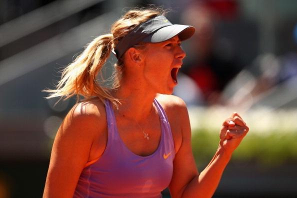 Nguoc dong ha Li Na, Sharapova rong cua vo dich Madrid Open hinh anh