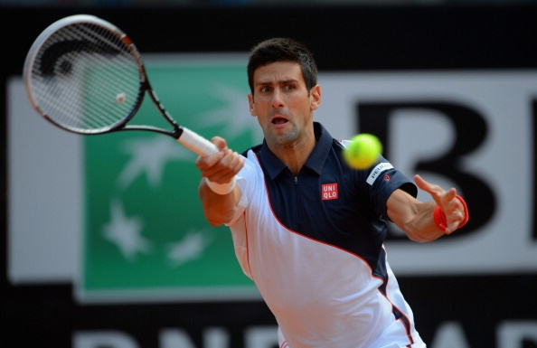 Djokovic chay da hoan hao tai Rome Masters hinh anh