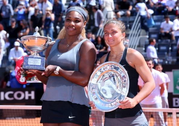 Serena Williams bao ve thanh cong ngoi hau Italian Open hinh anh