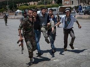 Danh bom dam mau tai bien gioi Syria - Tho Nhi Ky hinh anh