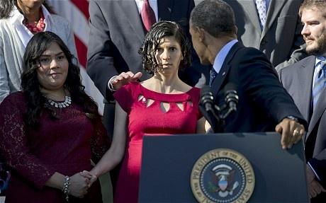 Obama nhanh tay do ba bau sap nga hinh anh