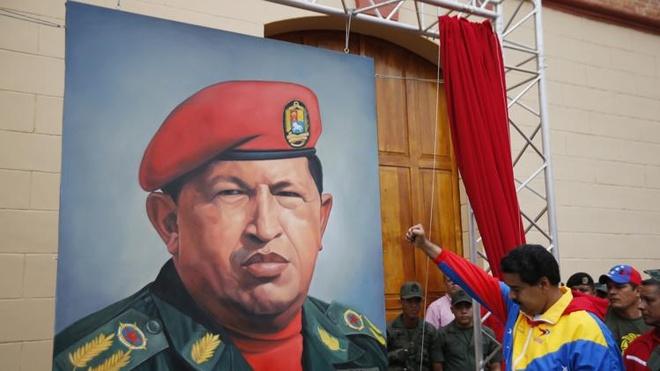 'Co tong thong Venezuela hien ra tren tuong' hinh anh