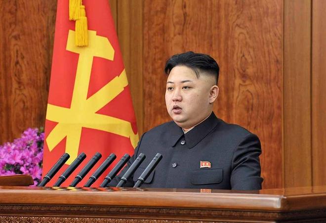 Lenh cat toc giong Kim Jong Un chi la tin don hinh anh