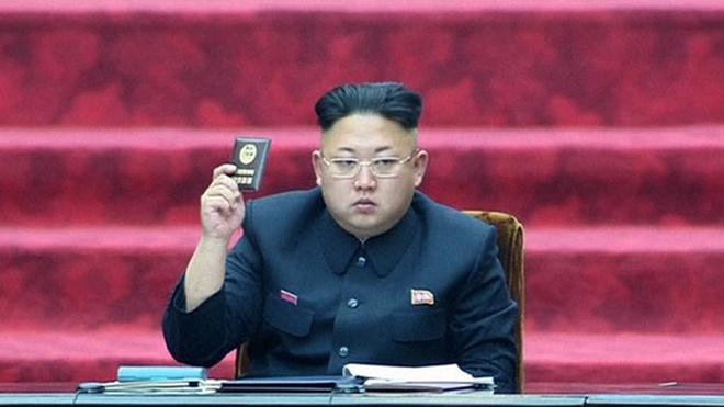 Hieu toc tai Anh dung anh Kim Jong Un de quang cao hinh anh