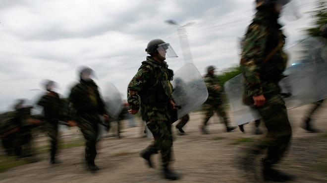 6.000 binh si NATO tap tran giap bien gioi Nga hinh anh