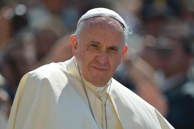 Giao hoang se hoi y Chua ve thoi diem nghi huu hinh anh 1 Giáo hoàng Francis đánh giá cao quyết định thoái vị khi đang còn sống của Giáo hoàng danh dự Benedict XVI. Ảnh: AFP