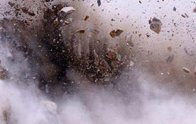 Bom no trong cho vu khi o Syria, 30 nguoi chet hinh anh