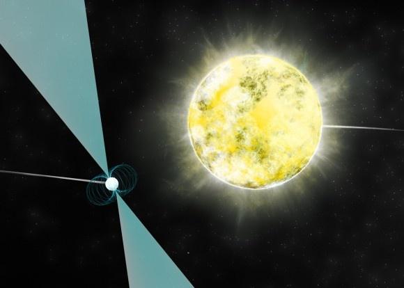 PSR J2222-0137 là ngôi sao lùn trắng lạnh nhất và mờ nhạt nhất mà giới khoa học phát hiện từ trước tới nay. Ảnh: