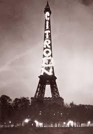 5. Cuối những năm 1920 và đầu những năm 1930, tháp Eiffel trở thành biển quảng cáo với 3 cạnh của nó là những tấm biển của hãng ôtô Citroën.