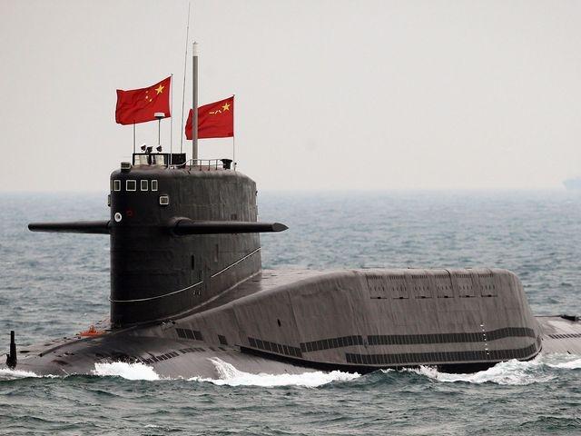 Trung Quoc lo ke hoach dong tau ngam hat nhan tan cong moi? hinh anh 2 Trung Quốc đã thử nghiệm tàu ngầm hạt nhân mới trên Biển Đông. Ảnh: Washington Times