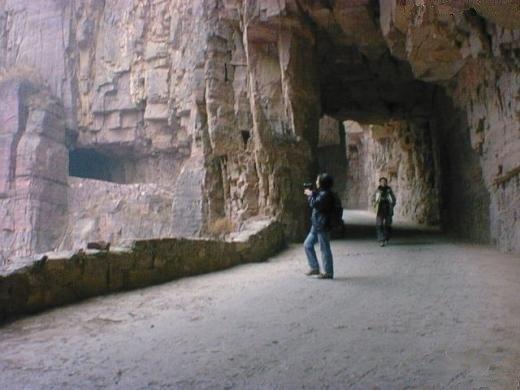 9 duong ham ky vi nhat the gioi hinh anh 6 Đường hầm Guoliang mang nhiều ý nghĩa đặc biệt.