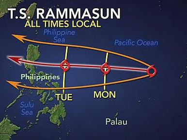 Hang ngan nguoi Philippines so tan truoc bao Rammasun hinh anh
